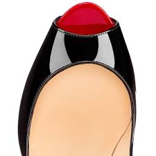 good work christian louboutin new very prive black red sales