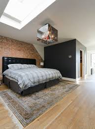 Modern Brick Wall by 50 Delightful And Cozy Bedrooms With Brick Walls