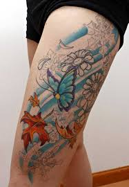 best 24 thigh tattoos design idea for tattoos ideas