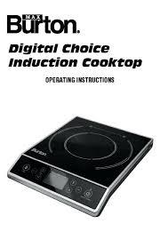 Nuwave Cooktop Manual Nuwave Cooktops Oven True Induction Cooktop Double Burner Energy