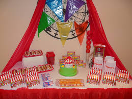 a circus birthday party part one decorations celebrate every