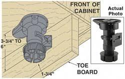 how to make cabinet toe kicks stonehaven