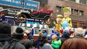 2016 thanksgiving day parade detroit