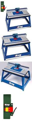 kreg prs2100 benchtop router table router tables 75680 kreg prs3400 precision router table set up bars