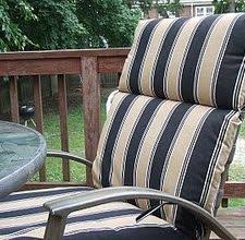 Waterproof Chair Pads How To Waterproof Patio Furniture Seat Cushions Outdoor Seat