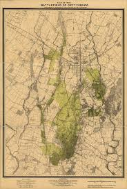 Battle Of Gettysburg Map Battlefield 2 Maps On Pinterest Military History History Of