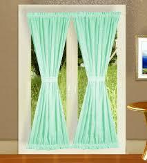 Mint Colored Curtains Solid Mint Green Colored Door Curtain Available In Many