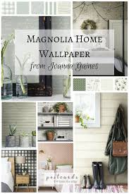 interior home wallpaper add some wow to your walls with joanna gaines u0027 new wallpaper