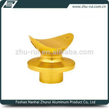 anodize aluminum stair railing post saddle removable handrail pipe