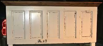 Headboard From Old Door by 5 Panel 90 Yr Old Door Converted Into A King Size Door Headboard
