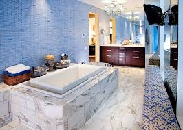 White And Blue Tiles In Bathroom 15 Eclectic Bathrooms With A Splash Of Delightful Blue