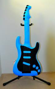 aqua u0026 black electric guitar pillow guitar softie music pillow