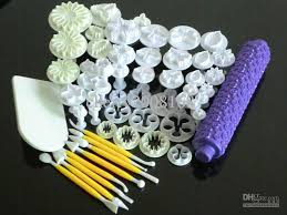 online decorating tools 18types new fondant cake decorating gum paste plunger cutters sugar
