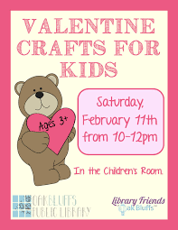 valentine u0027s day craft for kids oak bluffs public library
