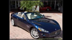 maserati maroon 2013 maserati granturismo convertible at naples motorsports with