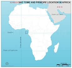 map of sao tome sao tome and principe location map in africa sao tome and
