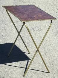 Folding Tray Table Set Folding Tv Tray Table Liverooted Me