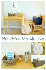 post office dramatic play buggy and buddy