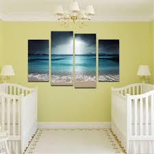 2017 beach painting wall art picture modern home decoration living