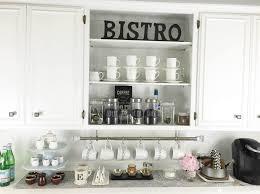 chalkboard ideas for kitchen uncategories coffee bar chalkboard in cabinet coffee station