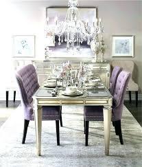 Purple Dining Room Chairs Purple Dining Room Alexwomack Me