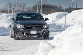 lexus gs 450h on snow 2014 buick regal awd snow drive legit bmw competitor motor trend