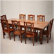 Large Dining Tables And Chairs Chair Bbo Poker Rockwell 8 Piece Dining Table Set With Lounge