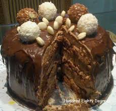 rere chocolate hazelnut cake hundred eighty degrees