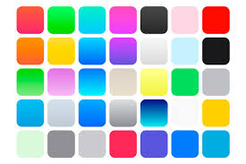 color swatches ios 7 color swatches gradients patterns creative market