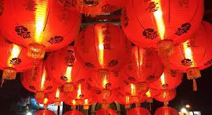 lunar new year lanterns phuket streets light up for new year lantern festival
