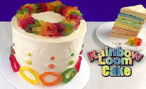 cake how to rainbow loom band cake how to cook that reardon