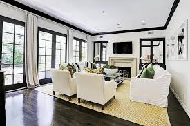 Decor Pad Living Room by French Industrial Coffee Table Transitional Living Room