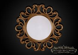 ornate antique gold mirror from ornamental mirrors limited