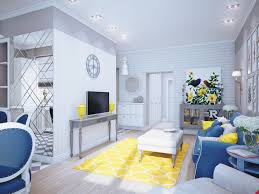 decorations cheerful blue yellow color scheme combo for decorations cheerful blue yellow color scheme combo for scandinavian interior with colorful curtains blue and