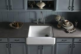 cast iron apron kitchen sinks kohler whitehaven 36 k single basin enameled cast iron kitchen sink