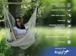 Swinging Ball Chair Amazon Com Mayan Hammock Chair Large Cotton Hanging Chair