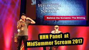 halloween horror nights scream maze and ticket info at halloween horror nights panel at