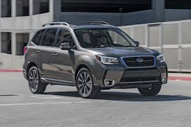 subaru forester 2017 subaru forester 2 0xt touring first test review