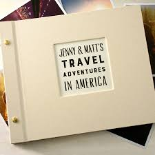 travel photo album personalised travel photo album by made by ellis