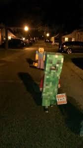 Minecraft Creeper Halloween Costume Happy Minecraft Halloween