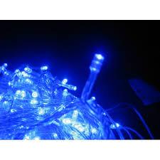 500 led christmas icicle lights blue