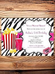 movie night invitations template movie night invitations in addition to zebra movie night birthday