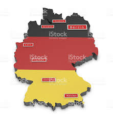 Map Of Germany With Cities by Map Of Germany And Big Cities Stock Photo 481356411 Istock