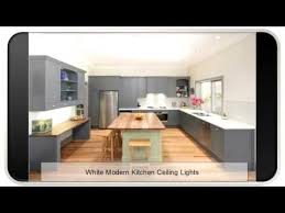 Modern Kitchen Ceiling Light by White Modern Kitchen Ceiling Lights Youtube