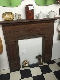 antique oak fireplace mantle home decor antique salvage