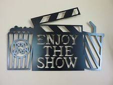 Home Theatre Wall Decor Theater Home Décor Plaques U0026 Signs Ebay