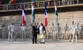Rock Garden Of Chandigarh Pm Narendra Modi And President Francois Hollande Visit Rock