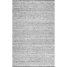 Outdoor Chevron Rug Nuloom Natosha Chevron Striped Silver 5 Ft X 8 Ft Indoor Outdoor