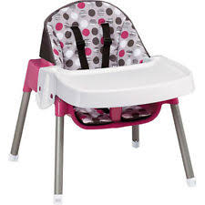 High Chair For Infants Evenflo Convertible High Chair Desk For Infants Ebay