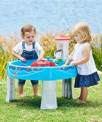 step 2 sand and water table parts kids sandpits water play tables elc